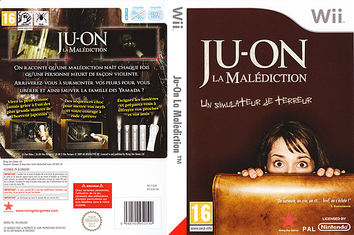 Ju-On La Malédiction pochette Wii (RJOP99)