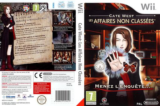 Cate West:The Vanishing Files pochette Wii (RKEPGN)