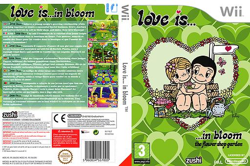 Love is... in bloom pochette Wii (RLCP7J)