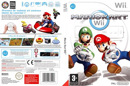 Mario Kart Wii pochette Wii (RMCP01)