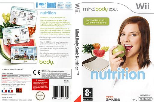 Mind.Body.Soul:Nutrition pochette Wii (RNIPGT)