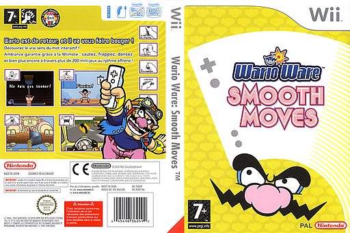 WarioWare : Smooth Moves pochette Wii (RODP01)