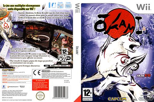 Ōkami pochette Wii (ROWP08)