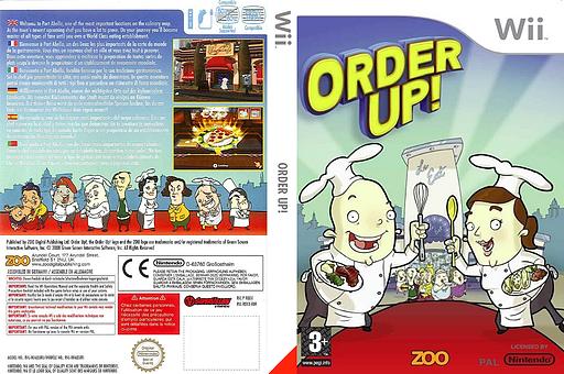 Order Up! pochette Wii (ROXX7J)