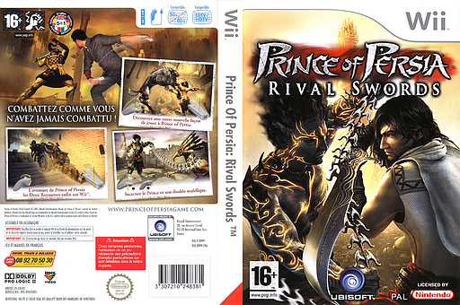 Prince of Persia : Rival Swords pochette Wii (RPPP41)