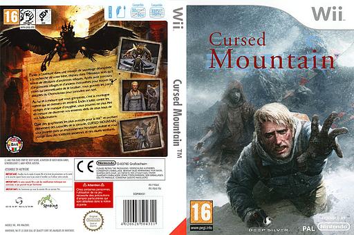 Cursed Mountain pochette Wii (RQ6PKM)