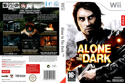 Alone in the Dark pochette Wii (RRKP70)