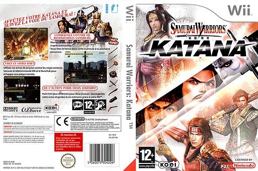 Samurai Warriors:Katana pochette Wii (RS5PC8)