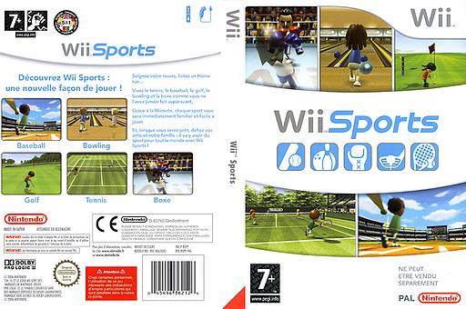 Wii Sports pochette Wii (RSPP01)