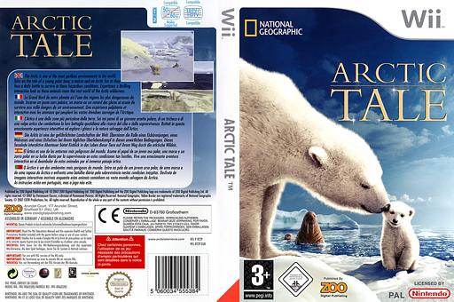 Arctic Tale pochette Wii (RT2P7J)