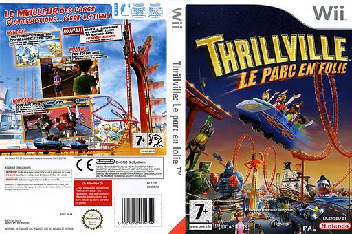 Thrillville : Le parc en folie pochette Wii (RTVP64)