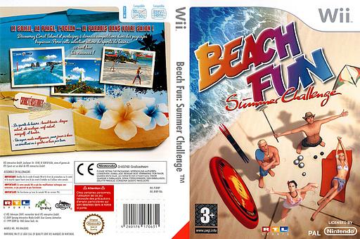 Beach Fun:Summer Challenge pochette Wii (RV8PRT)