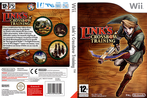 Link's Crossbow Training pochette Wii (RZPP01)