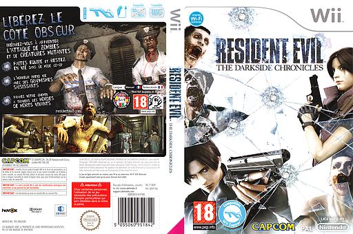 Resident Evil:The Darkside Chronicles pochette Wii (SBDP08)