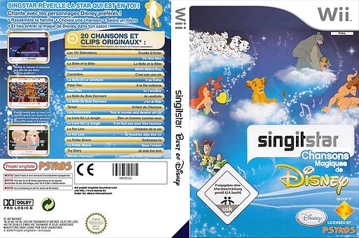 StarSing:Chansons Magiques de Disney v1.1 pochette CUSTOM (SBOD3Q)