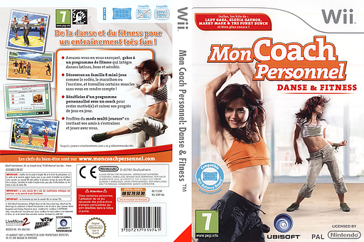 Mon Coach Personnel:Danse & Fitness pochette Wii (SCWP41)