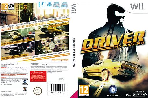 Driver:San Francisco pochette Wii (SDVP41)