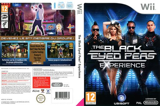 The Black Eyed Peas Experience pochette Wii (SEPP41)