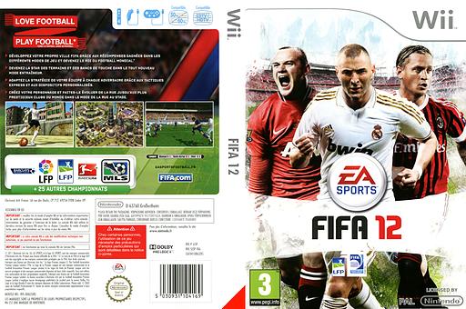 FIFA 12 pochette Wii (SI3P69)