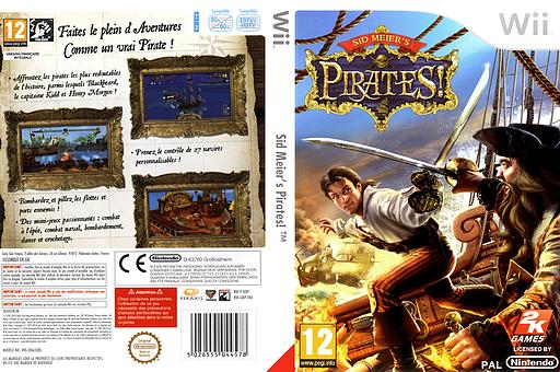 Sid Meier's Pirates! pochette Wii (SIDP54)