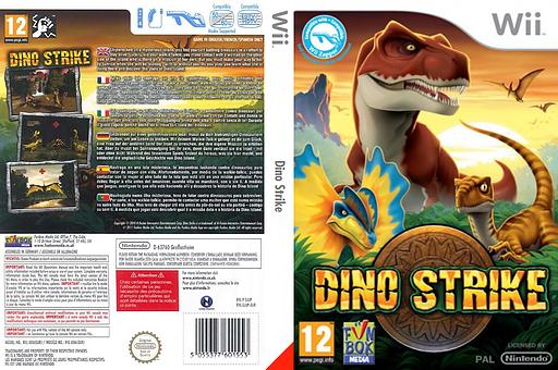 Dino Strike pochette Wii (SJUPXT)