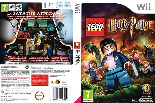 LEGO Harry Potter:Années 5 à 7 pochette Wii (SLHPWR)
