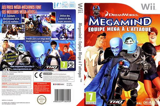 Megamind pochette Wii (SMGP78)