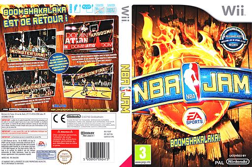 NBA Jam pochette Wii (SNJP69)