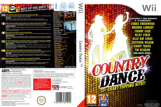 Country Dance pochette Wii (SQ2PXT)