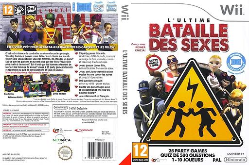 L'Ultime Bataille des Sexes pochette Wii (SQTPML)