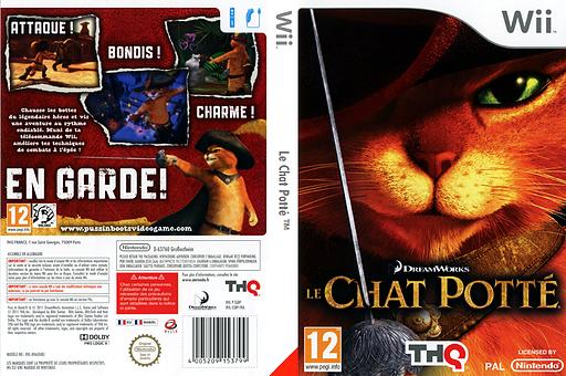 Le Chat Potté pochette Wii (SSBP78)