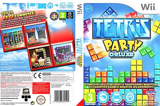 Tetris Party Deluxe pochette Wii (STEPTR)