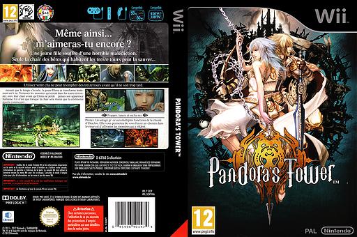 Pandora's Tower pochette Wii (SX3P01)