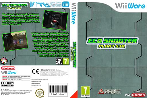 Eco-Shooter: Plant 530 pochette WiiWare (W6BP)