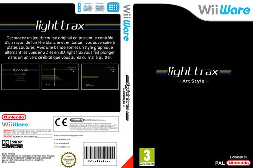 Art Style:light trax pochette WiiWare (WALP)
