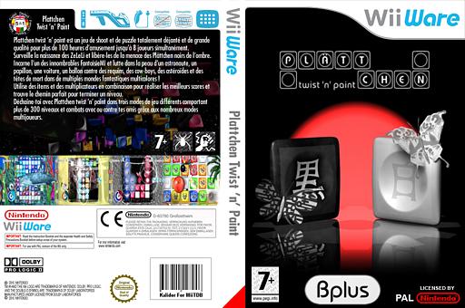 PLÄTTCHEN - twist 'n' paint pochette WiiWare (WBPP)