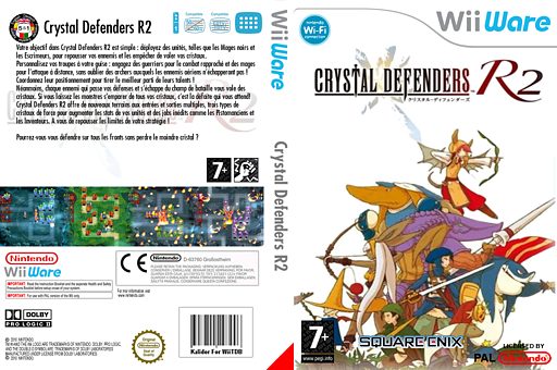 Crystal Defenders R2 pochette WiiWare (WC2P)