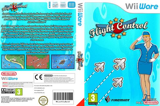 Flight Control pochette WiiWare (WFHP)