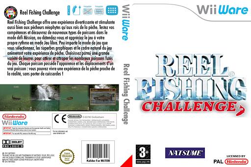 Reel Fishing Challenge pochette WiiWare (WFIP)