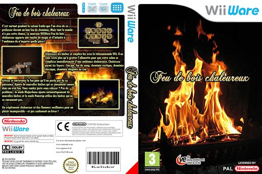 Feu de Bois Chaleureux pochette WiiWare (WFXP)