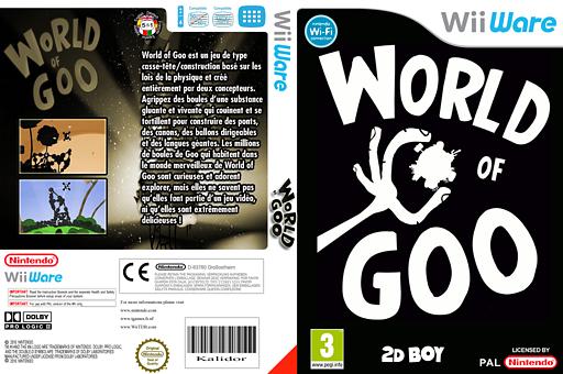 World of Goo pochette WiiWare (WGOP)