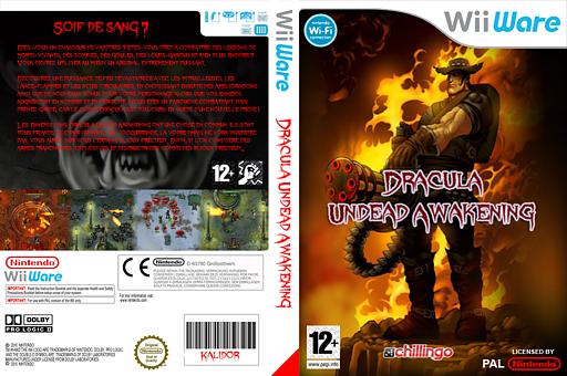 Dracula:Undead Awakening pochette WiiWare (WIDP)