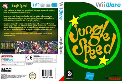 Jungle Speed pochette WiiWare (WJSP)