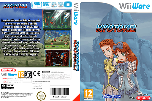 Kyotokei pochette WiiWare (WKCP)