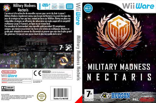 Military Madness : Nectaris pochette WiiWare (WN9P)