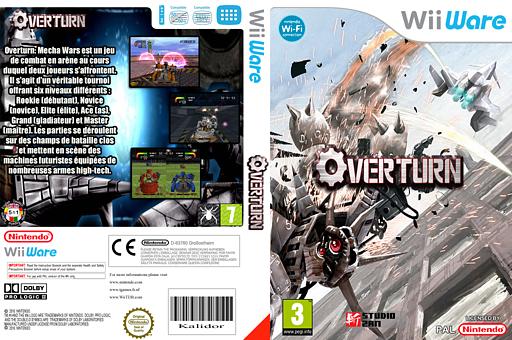 Overturn:Mecha Wars pochette WiiWare (WOTP)