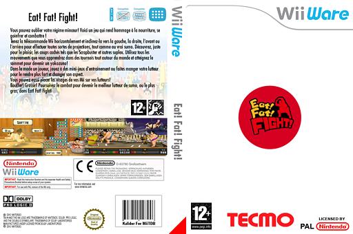 Eat! Fat! FIGHT! pochette WiiWare (WSMP)