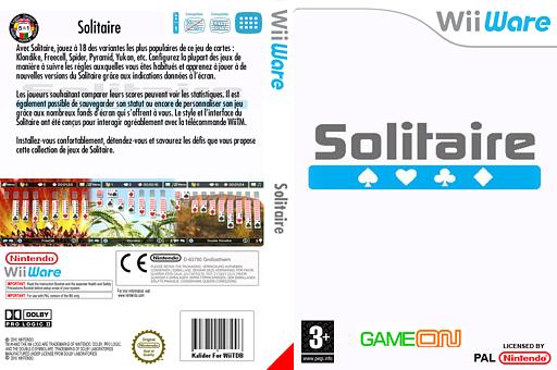 Solitaire pochette WiiWare (WSSP)