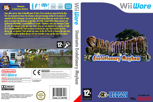 Shootanto : Evolutionary Mayhem pochette WiiWare (WSUP)