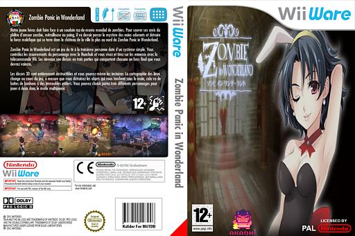 Zombie Panic in Wonderland pochette WiiWare (WZPP)